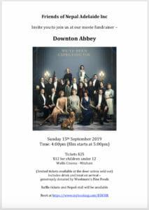 fonai Downton Abbey fundraiser
