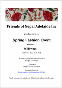 FONAI Spring Fashion Event